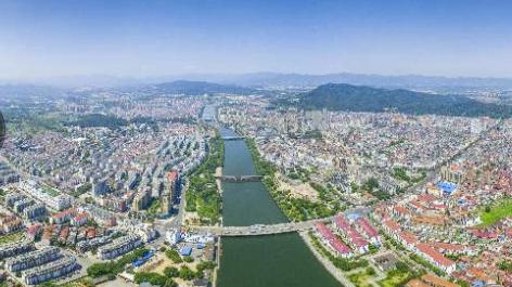 武义城区风景