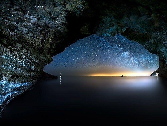 风光摄影:美轮美奂星空