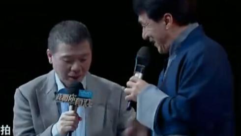 """冯小刚嘲笑成龙""""拍""""""""揿""""不分"""