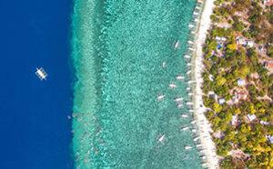 航拍镜头下的菲律宾 美若天堂