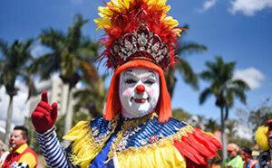 危地马拉举行小丑大会