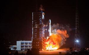 我国成功发射北斗导航卫星