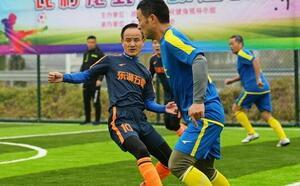 绍兴市首个农村笼式足球场投用